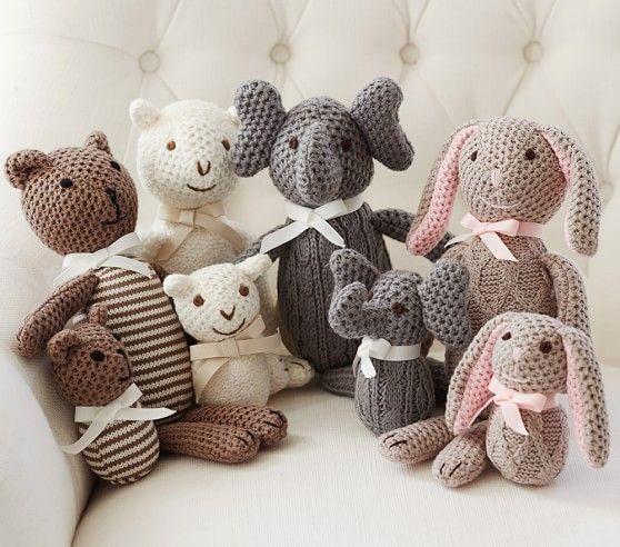 Knit Plush Animals Easter Plush Plush Animals Knitting