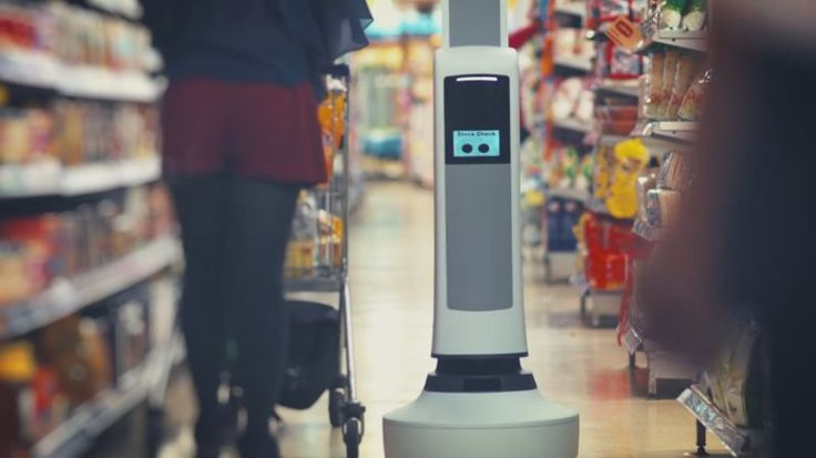 These Autonomous Robots Help Grocery Stores Keep Track of Their Stock http://www.trendhunter.com/trends/help-grocery-stores