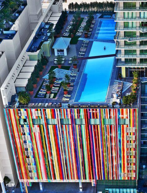 Pop cromático| Hotel SLS Brickell en Miami | AD MX SergioS