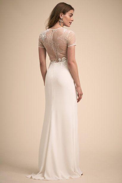 Ivory Athens Gown Bhldn Bhldn Wedding Dress Bhldn