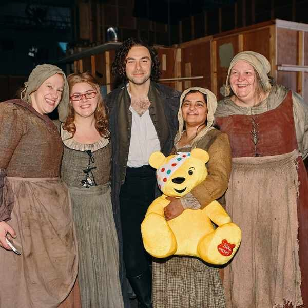 Aidan Turner - Children In Need - Poldark Special