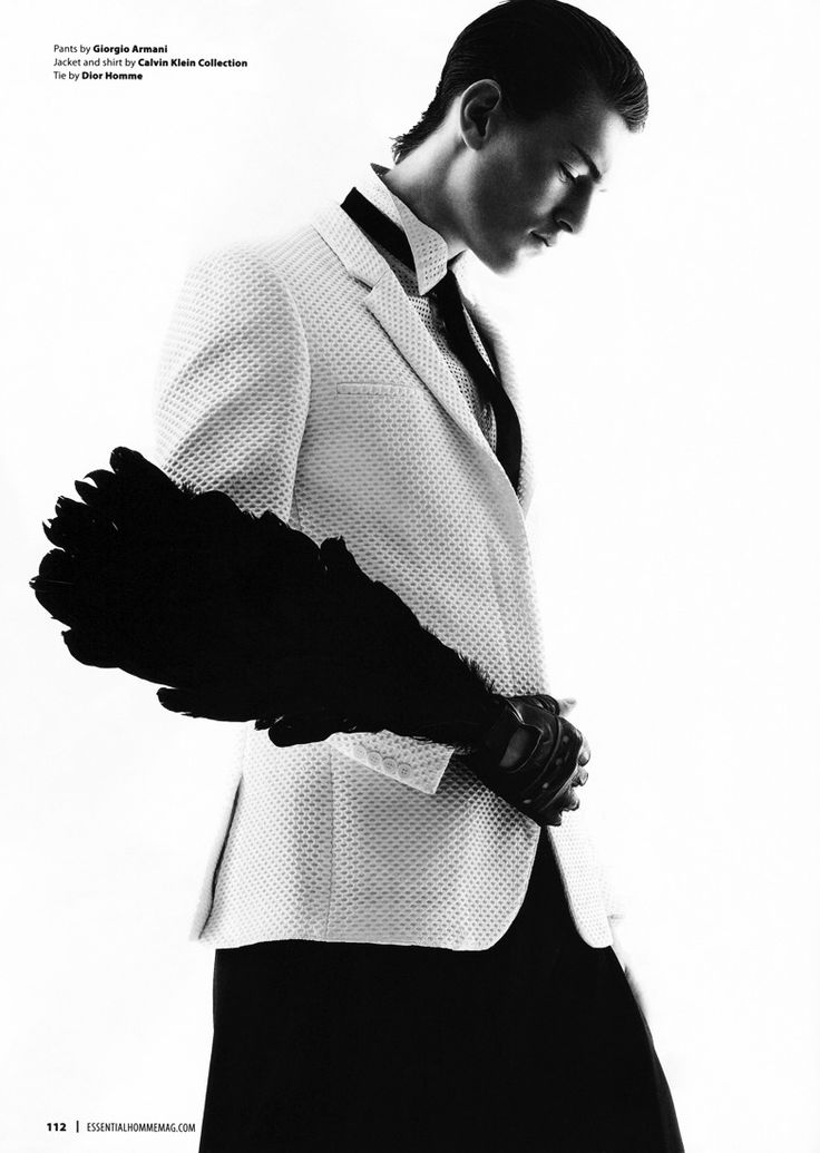 """""""On the fly"""" by Karl Simone for Essential Homme."""