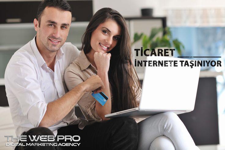 #Ticaret İnternete Taşınıyor. Siz de vakit kaybetmeden #ürün ve servislerinizi İnternette #tanıtmak ve #İnternet üzerinden satışını yapmak için bir #eticaret sitesini kolaylıkla oluşturabilir, işinizi İnternette büyütmeye bugün başlayabilirsiniz!
