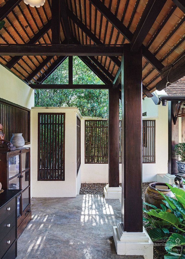 """Thailand House Design: บ้านในจังหวัดเชียงใหม่หลังนี้มีชื่อว่า """"วิลล่าโบตั๋น"""" รอบ"""