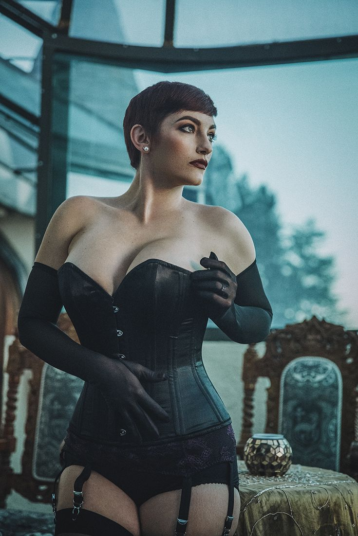 Moody laced up vibes from Moni in our Sophia Corset, by Charles Torrealba Photography, with hair by Miss Rockabilly Ruby and makeup by Erika Reno. If you're a fan of Charles and Ruby's work, keep an eye out - we're collaborating with them very soon! And if you're lucky enough to be attending Miss Ruby's Beauty School (on tour in the next couple of months!) you'll be in with a chance to win a little prize from What Katie Did too!