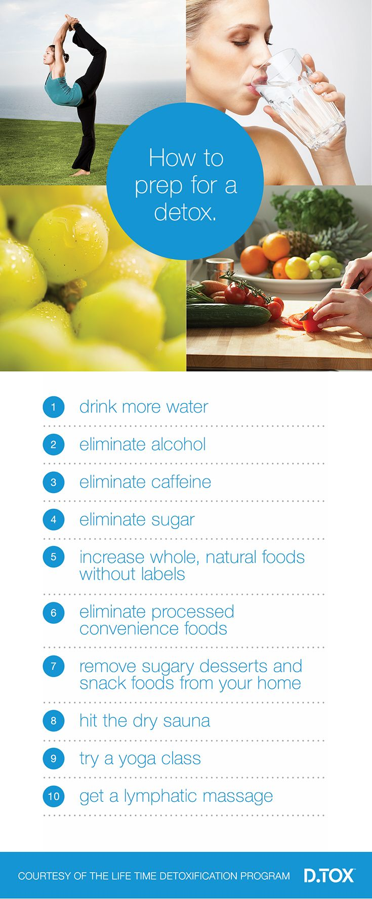 Prepping for a 14-day detox with Life Time D.Tox #lifetimefitness #detox