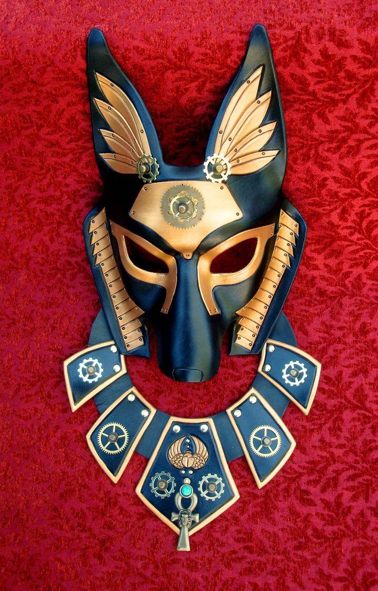 Industrial Anubis With Collar by merimask.deviantart.com on @deviantART