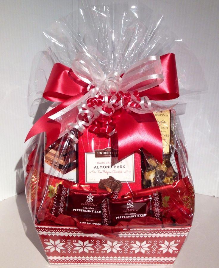 Snowflake Treats Gift Basket by Dream Weaver www.dreamweavergifts.ca