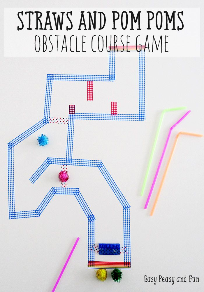 Best 25 obstacle course games ideas on pinterest kids obstacle obstacle course straw game ccuart Gallery