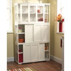 Sliding Door Stackable Cabinet