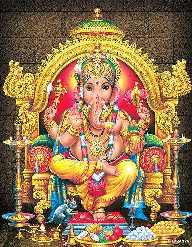 Lord Ganesh is also known by the names #Ganapati, #Ekadanta, #Vinayaka…