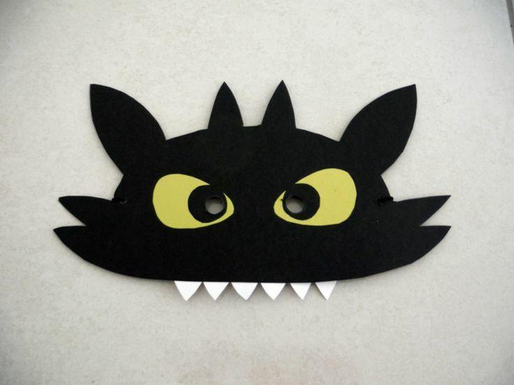 Ohnezahn Maske selber machen  Ohnezahn kostüm, Masken und