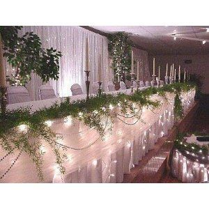 Wedding Reception Decoration Ideas: Wedding Christmas Lights