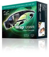 Wrap 1200VR - Can track head movement...