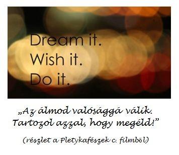 álmokról