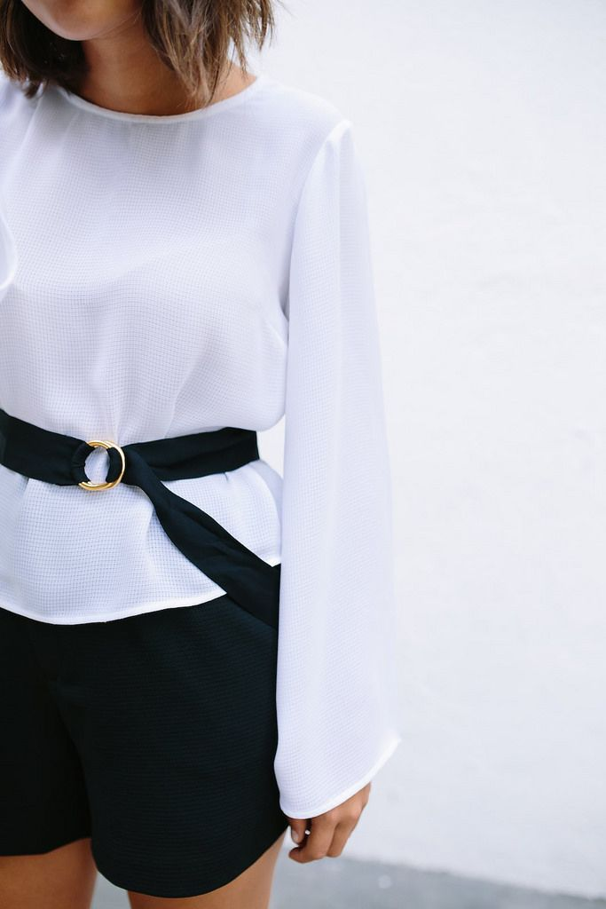 diy double circle belt