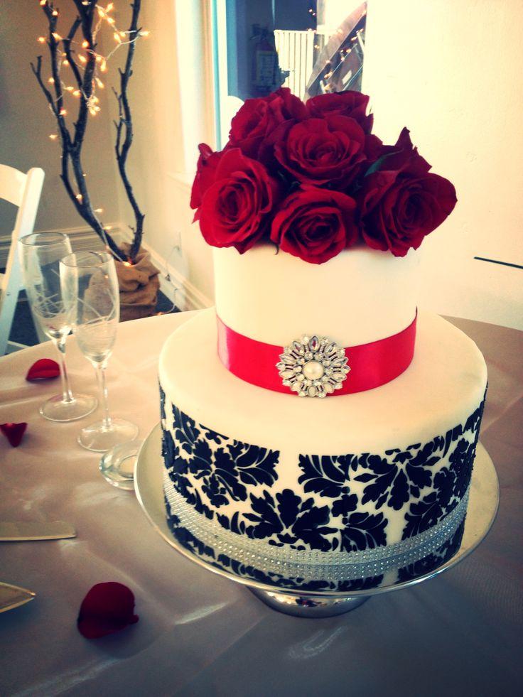 32 best Wedding cakes images on Pinterest | Cake wedding, Sugaring ...