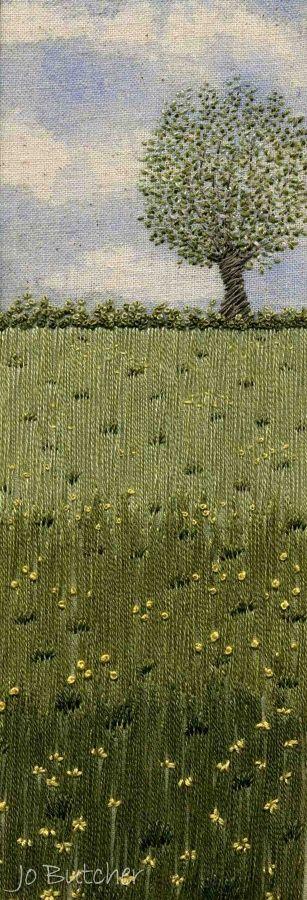 Jo Butcher, Embroidery Artist - Gallery - Category: Meadow