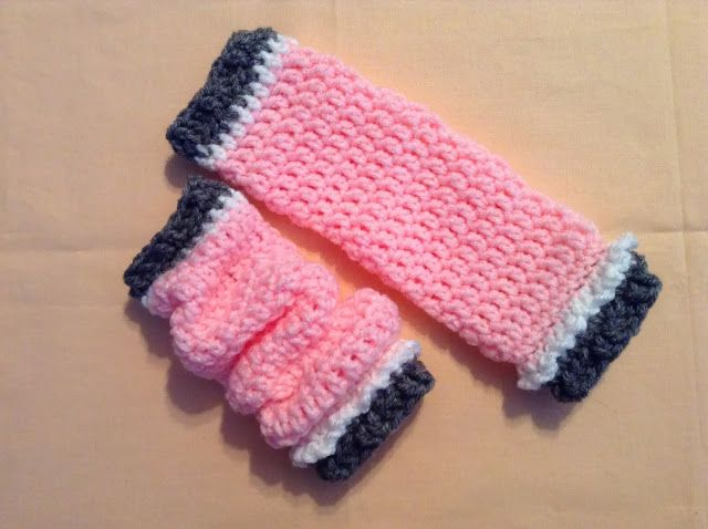 FREE; The Shtick I Do!: Slouchy Leg Warmers for Infants with Pattern