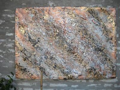En pintura metalizada