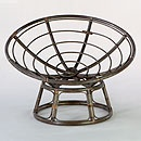 Espresso Papasan Chair Frame | World Market
