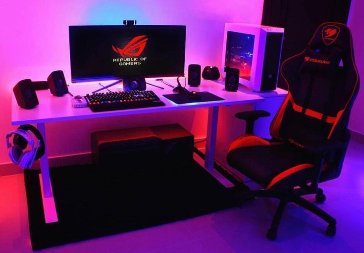 Creating a video game room in your home can be really hard, yet these computer game room decor images will assist you #gamingroomstuff #pcgameaccessor…
