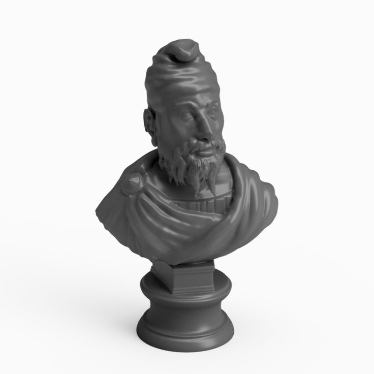 Decor – Bust Decebal