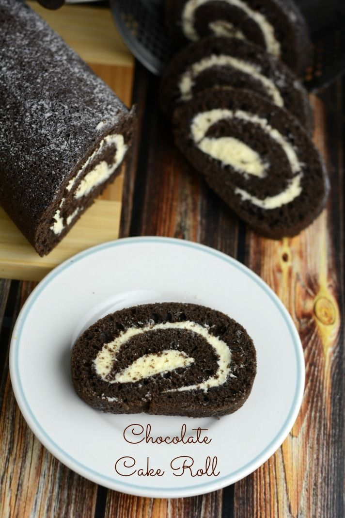 This delicious Chocolate Cake Roll with Cream Cheese filling is sure to impress your friends, but is secretly very easy to make!
