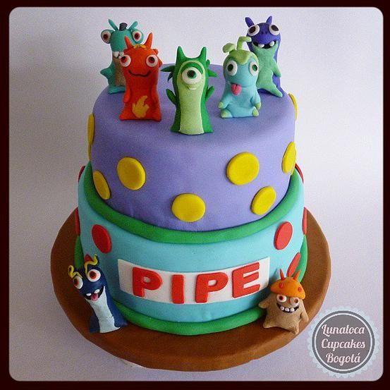 Torta Bajoterra - Slugterra Cake.