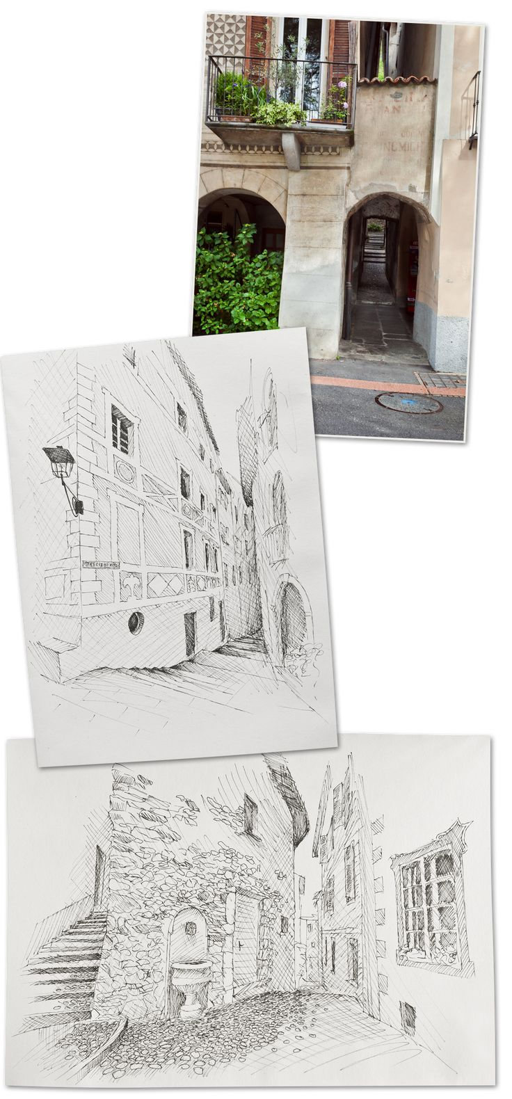 Lugano, Marcote, Monte San Salvatore -  Madame Oreille