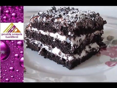 Kakaolu Kolay Pasta - Pratik Yemek Tarifleri - YouTube