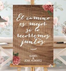 """Cartel """"El Camino"""""""