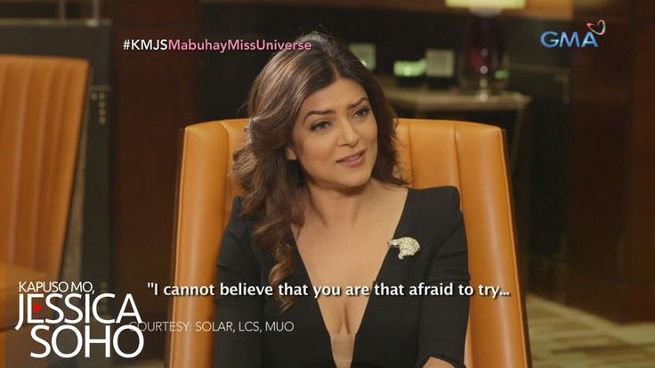 Kapuso Mo, Jessica Soho: One-on-one interview with Miss Universe 1994 Sushmita Sen - WATCH VIDEO HERE -> http://philippinesonline.info/entertainment/kapuso-mo-jessica-soho-one-on-one-interview-with-miss-universe-1994-sushmita-sen/   Aired: January 29, 2017 Check out the Indian beauty queen's interview with Ms. Jessica Soho. She also got to meet the other Sushmistas from the Philippines.        Watch 'Kapuso Mo, Jessica Soho' every Sunday on GMA hosted by Jessica Soho.