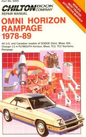 Omni/Horizon Rampage, 1978-89 (Chilton's Repair Manual (Model Specific)) - http://musclecarheaven.net/?product=omnihorizon-rampage-1978-89-chiltons-repair-manual-model-specific