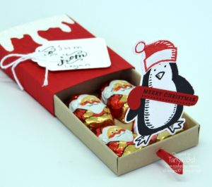 Stampin' up! Pop Up Christmas Gift Box