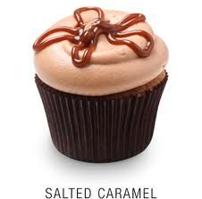 Georgetown Cupcakes: Salted Caramel Cupcake!!! While away this summer, in Boston, I enjoyed my fair share of these delicious little things.... by far my favorite Georgetown cupcake!! Calling all caramel lovers:)