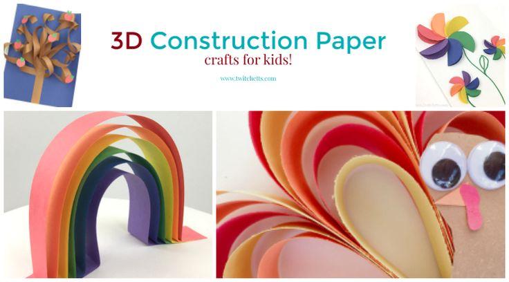 Artigianato di carta da costruzione 3D. Fai arte 3d con carta. Dai animali alle forme, prendi il tuo papercraft al livello successivo facendolo tridimensionale.