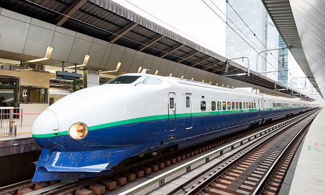 Why the 160mph Shinkansen train is the only way to see Japan
