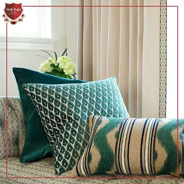 Genelde gözümüzden kaçan bir detay olan dekoratif yastıklar ve kırlentler ile evinize modern veya klasik tarzı yansıtmak için kullanılabilecek önemli dokunuşlardır.  Yastık Kumaşları: Stroheim Fabrics  www.nezihbagci.com / +90 (224) 549 0 777  ADRES: Bademli Mah. 20.Sokak Sirkeci Evleri No: 4/40 Bademli/BURSA  #nezihbagci #perde #duvarkağıdı #wallpaper #floors #Furniture #sunshade #interiordesign #Home #decoration #decor #designers #design #style #accessories #hotel #fashion #blogger…