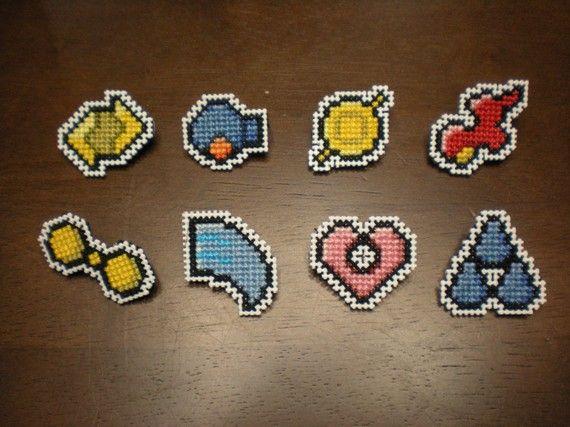 Pokemon  Hoenn Region   Gym Badges by BritRoCustoms on Etsy