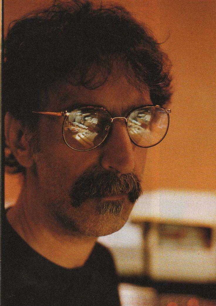 Frank Zappa so 80's lol