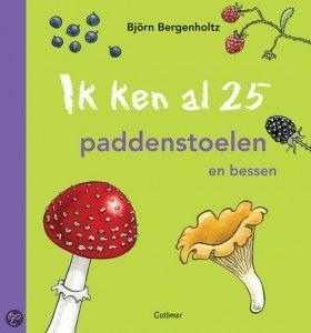 25 paddenstoelen - thema herfst - Lespakket