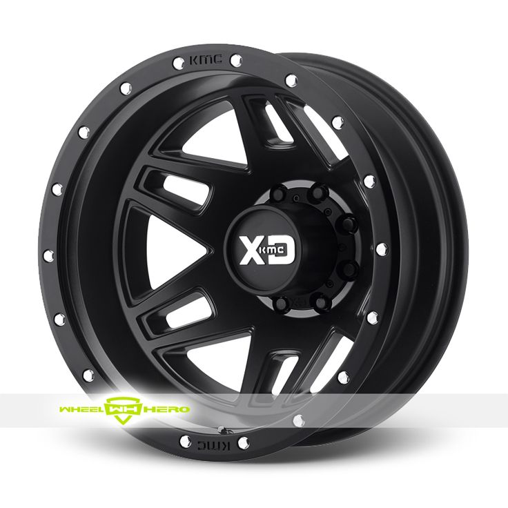 XD Series XD130 Machete Dually Black Wheels For Sale & XD Series XD130 Machete Dually Rims And Tires