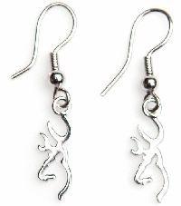 Browning dangle earrings