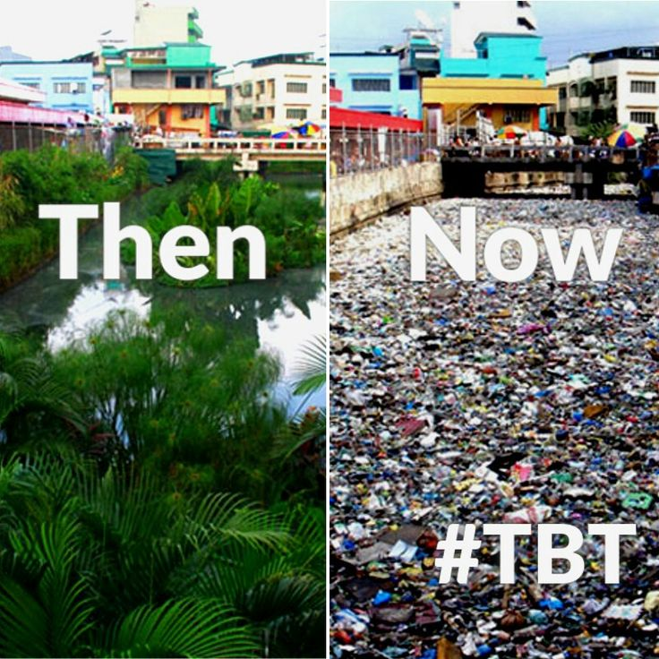 What happened to all the green? Children are gonna grow up thinking trash in rivers is the norm #tbt #savetheplanet