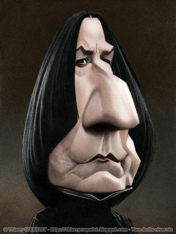 Alan Rickman as Snape (Harry Potter)