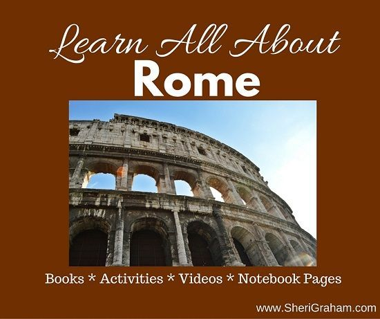We are going to be studying Ancient Rome this year in our homeschool, so I decided to create a resource page so that we had everything in one place. I hope you enjoy this resource as well! Books About Rome Ancient Rome Ancient Rome Activity Book Augustus
