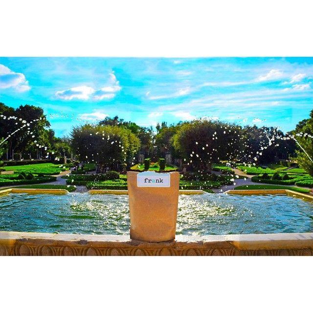 Vizcaya Fountains. #averyfrankadventure