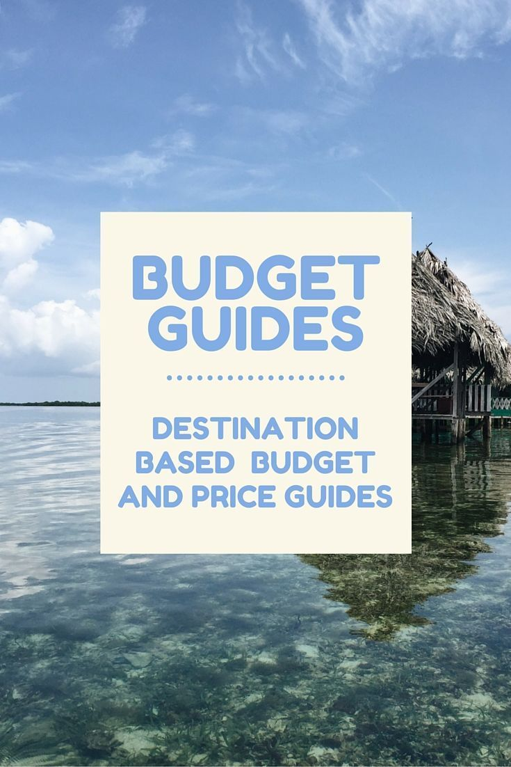 Price Guides by Destination: Budget travel and price guides to many destinations around the world. These guides are designed for backpackers, budget travelers, and anyone who wants to travel but thinks it's just too darn expensive