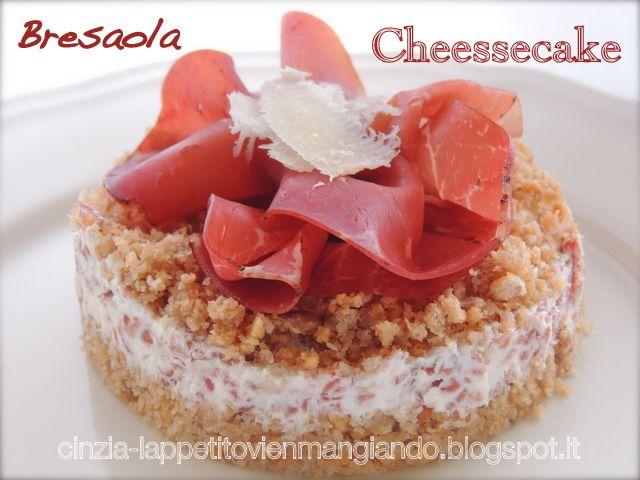 Cinzia ai fornelli: Bresaola Cheesecake